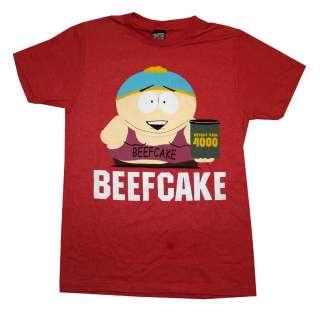 South Park Eric Cartman Beefcake Weight Gain 4000 Cartoon T Shirt Tee