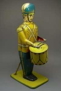 Wolverine Drummer Drum Major #27 Tin Litho Wind Up Toy
