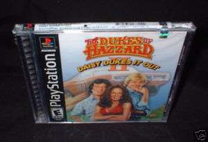 DUKES OF HAZZARD II DAISY DUKES IT OUT PS1 NEW 612561167155