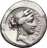Roman Republic IMPERATOR Memmius son in law Sulla Silver Ancient Coin
