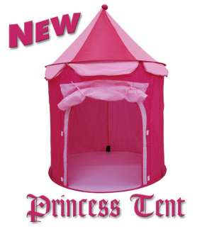 NEW FAIRY PRINCESS CASTLE POP UP TENT PLAY HOUSE   GREAT GIFT FOR