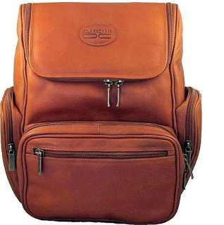 CLAIRECHASE GUARDIAN LARGE LEATHER LAPTOP BACKPACK