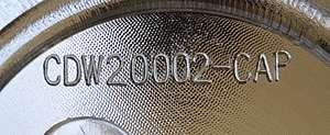 U2 35 U2 Wheel Center Cap (CDW20002 CAP or DW200 CAP)