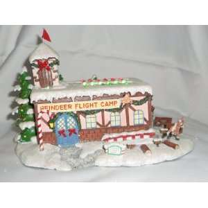 Reindeer Holiday Village Collection   Coach Comets Flight Camp #2