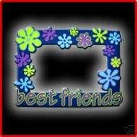 Best Friend Purple Picture Frame Soft PVC(multicolored)