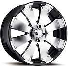 16x8 Machined Black Wheel Ultra Mako 6x5.5 Tacoma