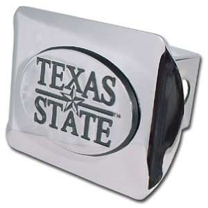 Texas State University Bobcats Bright Polished Chrome with Emblem