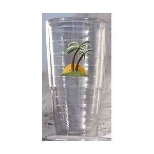 TERVIS TUMBLER SUNSET palm tree tropical beach INSULATED