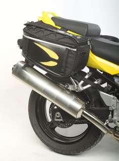 Dowco Fastrax Saddle Bag Motorcycle Sport Bike Luggage