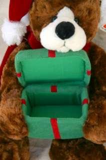 Gund Christmas Gift Teddy Bear Mylar Plush Stuffed Animal with Tag