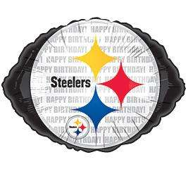 PITTSBURGH STEELERS BIRTHDAY PARTY BALLOON Football NFL