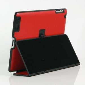 / PU Leather Flip Stand Case / Cover / Skin / Shell for Apple iPad 2