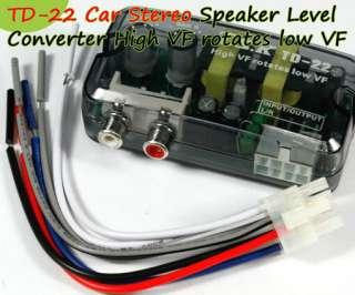 TD 22 Car Stereo Speaker Level Converter