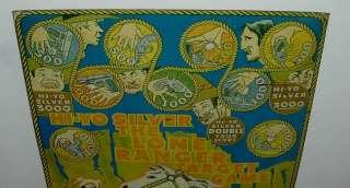 VINTAGE MARX MAR TOYS LONE RANGER TARGET GAME 1938