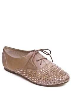 NEW STEVE MADDEN TAPPS S Women Stud Satin Slip On Loafer Flat Shoe