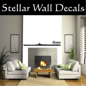 Rome 02 Skyline Wall Car Vinyl Decal Sticker