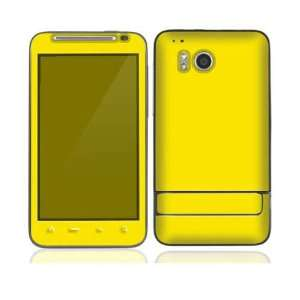 Simply Yellow Protective Skin Cover Decal Sticker for HTC