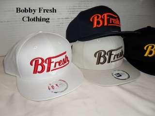 BOBBY FRESH X NEW ERA SUPREME B FRESH SNAP BACK LOGO HAT