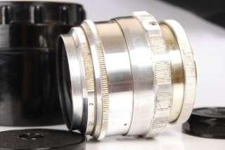 Russian Soviet vintage Jupiter 9 2/85mm M39 M42 Portret SILVER Lens