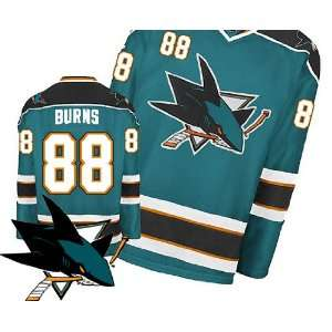 San Jose Sharks Authentic NHL Jerseys Brent Burns Home Green Hockey