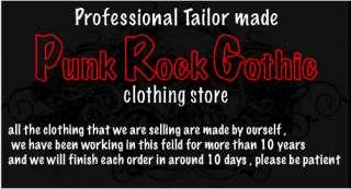 Gothic XXXL clothing, shorts jacket items in Japan KERA Punk Rock