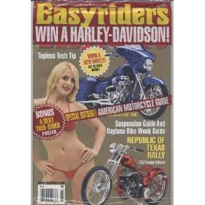 Easyriders Magazine March 2010: Various: Books