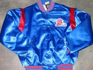 Vtg Buffalo Bills satin jacket by Swingster med