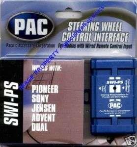 SWI PS Pioneer Steering Adapter DEH P9800BT AVIC Z130BT