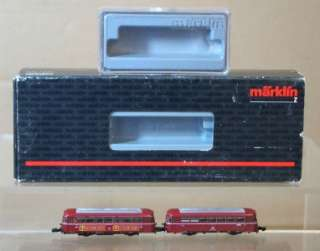 MäRKLIN 8831 8817 MINI CLUB Z DB CLASS BR 798 RAILBUS SET MIB or