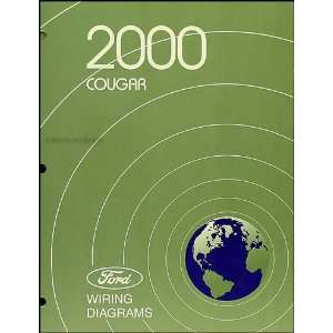 : 2000 Mercury Cougar Wiring Diagram Manual Original: Mercury: Books