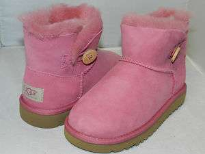MINI BAILEY BUTTON BOOT Bubble GUM (PINK) 100% AUTHENTIC IN BOX