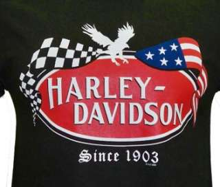 Harley Davidson Las Vegas Dealer Tee T Shirt BLACK SMALL #BRAVA1