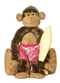 Cheeky Charlie Surfer Dude Surfing Monkey Chimp Aurora