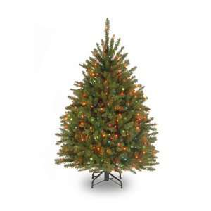 Dunhill Fir Tree, Hinged, 450 Multi Colored Lights (DUH 45RLO) Home