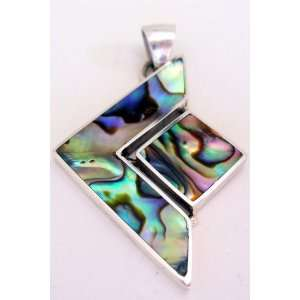 Abstract Abalone Pendant Jewelry