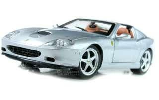 Hotwheels 2006 Ferrari SuperAmerica 1/18 Hot Wheels Sil