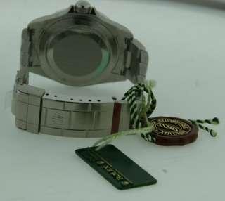 ROLEX SUBMARINER MENS DIAMOND BEZEL BRAND NEW 2011 BOX