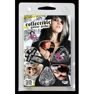 SG Suicide Girls Collectible Motion Guitar Picks: Musical