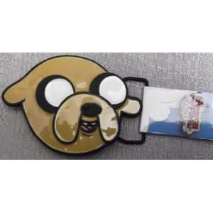 Adventure Time with Finn and Jake JAKE HEAD Metal Enamel BELT BUCKLE