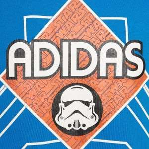 NWT ADIDAS X STAR WARS EWING STORMTROOPER BLUE MENS 4XL 4X SWEATSHIRT