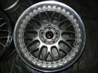 JDM 17 WORK VS XX Rims Wheels 5x114.3 +45 17x8 17X9 240SX RX7 SUPRA