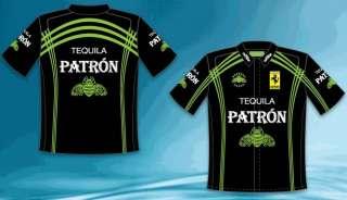 2011 Scott Sharpe Patron Tequila NASCAR Pit Shirt Mens