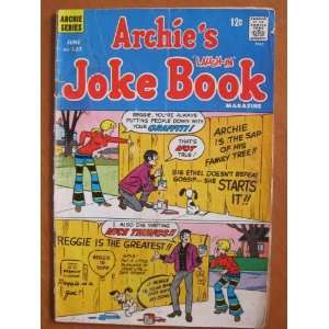 Archies Joke Book #137, June 1969 Archie Comic