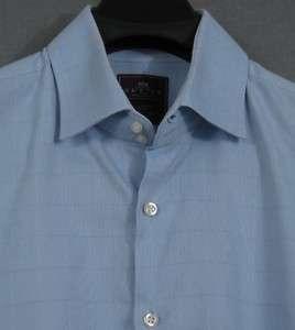 Hawes & Curtis spread collar French cuff shirt 17.5/6 7