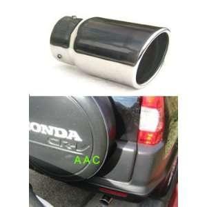 Stainless steel exhaust tip w/ polish finish   Honda CRV