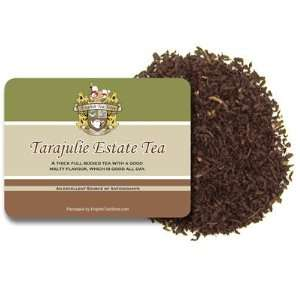 Tarajulie Estate Tea   Loose Leaf   4oz: Grocery & Gourmet Food