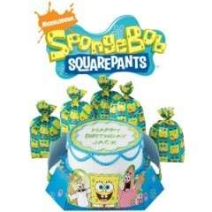 Spongebob CAKE Stand Kit birthday party favor loot bags