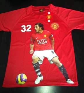 Shirt Boys Carlos Tevez Manchester United Jersey 16 New