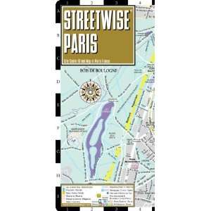 City Center Street Map of Paris, France [Map] Streetwise Maps Books