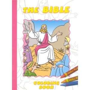 The Bible Coloring Book (Regina Press #1220 7) (9780882713571) Books